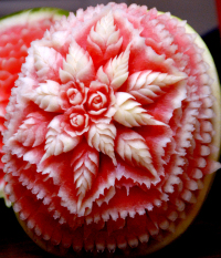 Floral-watermelon-carving_200