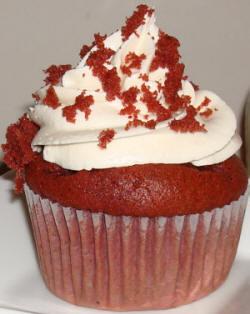 Emma's famous red velvet cupcakes!