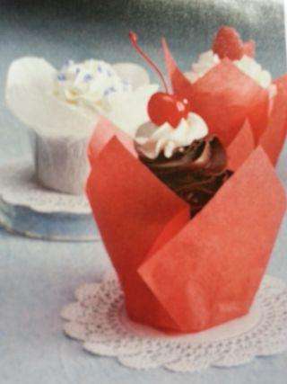Tulip-cupcake